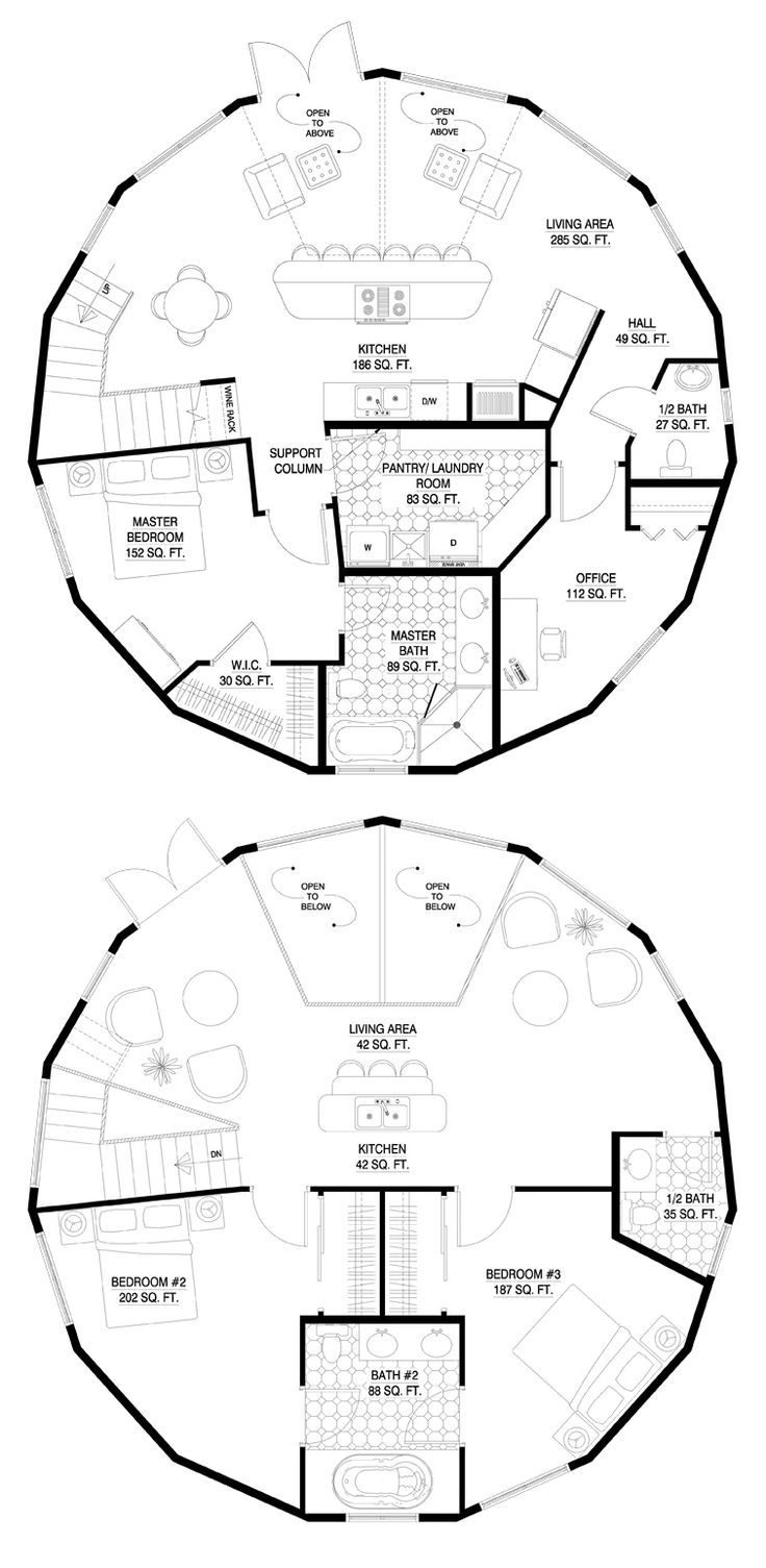 Architecture House Floor Plans best 25+ round house plans ideas on pinterest | cob house plans