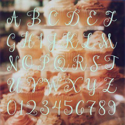 【Janda Stylish Script】 箱庭 | 使える!かわいい!フリーフォントまとめ 06
