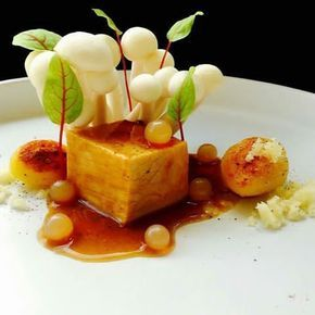 "By @marco_tola_chef ""Glazed cube of veal, marsala pearls, potatoes and beech mushrooms."" #foodphotography #f52grams #food #foodporn #gourmet #instagramfood #chef #foodart #lovefood #artofplating #instafood #yummy #foodpic #photooftheday #instagourmet #dinner #foodvsco #dessert #delicious #taste #foodartchefs #eat #gastronomy #love #foodie #cook #cooking #foodgasm #culinaryart"