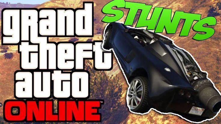 GTA 5 Online | Stunts mit dem Raketenauto | mit dem Raketenauto auf dem ...