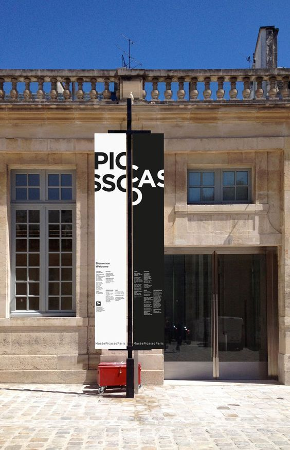 Signalétique Musée Picasso: