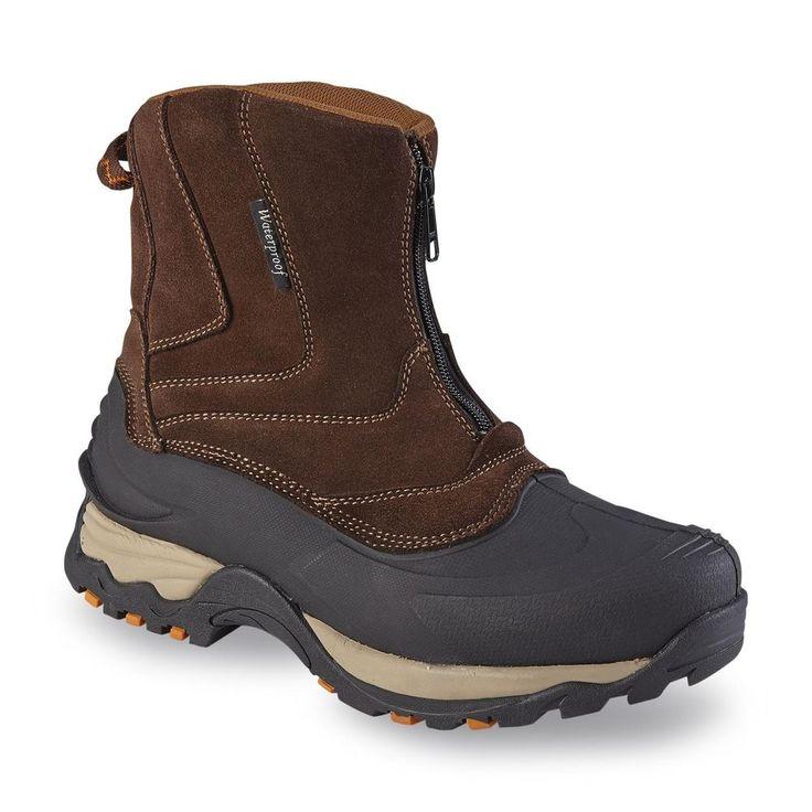 Details about Elk Woods men's boots calgary winter brown