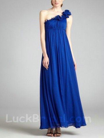 Royal Blue Party Dress