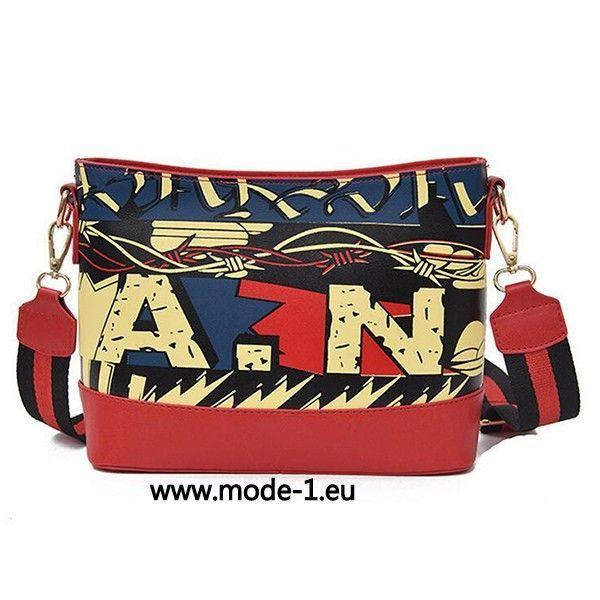 Druck Damen Shopping Tasche in Rot – Mode 2019 Kleider Abendkleider Brautkleider & Accessorize