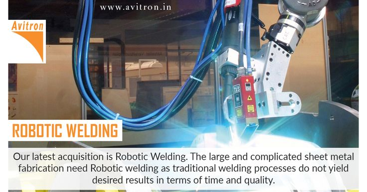 Our latest acquisition is robotic welding.the large and complicated sheet metal fabrication need robotic welding as traditional welding processes do not yield desired results in terms of time and quality. For more details contact us Email : info@avitron.in Visit : http://www.avitron.in/