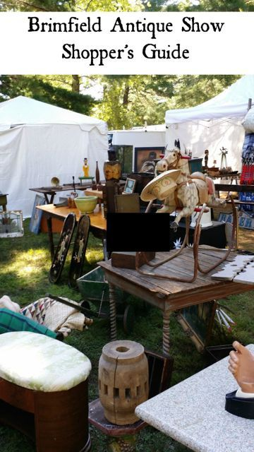 Brimfield Antique Show Shopper's Guide