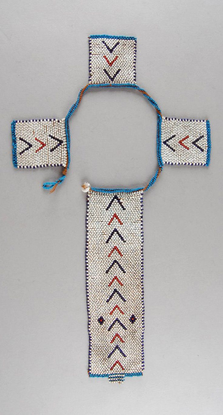 South Africa | Personal ornament; glass beads, fiber, brass buttons | ca. 1933 or earlier | Possibly made by the Xhosa (Tsolo, Eastern Cape) or (Griqualand East, KwaZulu Natal) people