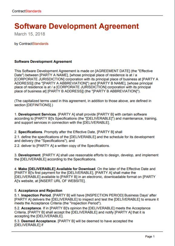 Software Work For Hire Agreement Template Work For Hire Agreement