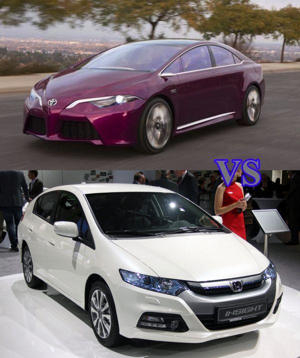 2015 Toyota Prius vs Honda Insight