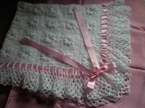 Mantilla Al Crochet Para Bebe