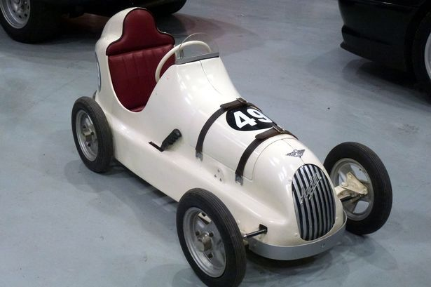 Rare pedal car built in a Bargoed factory more than 60 years ago sells at auction for £4,400 - Wales Online
