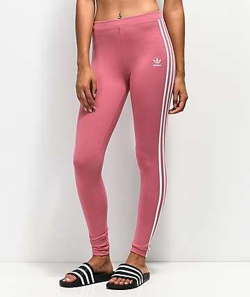 8c65abc0f7539 adidas 3 Stripe Pink Leggings in 2019 | Women's fashion | Pink ...