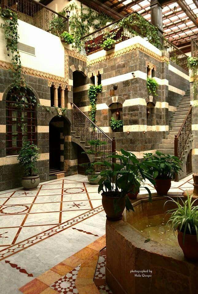 Beautiful Islamic Architecture Islamic Architecture Architecture Courtyard House