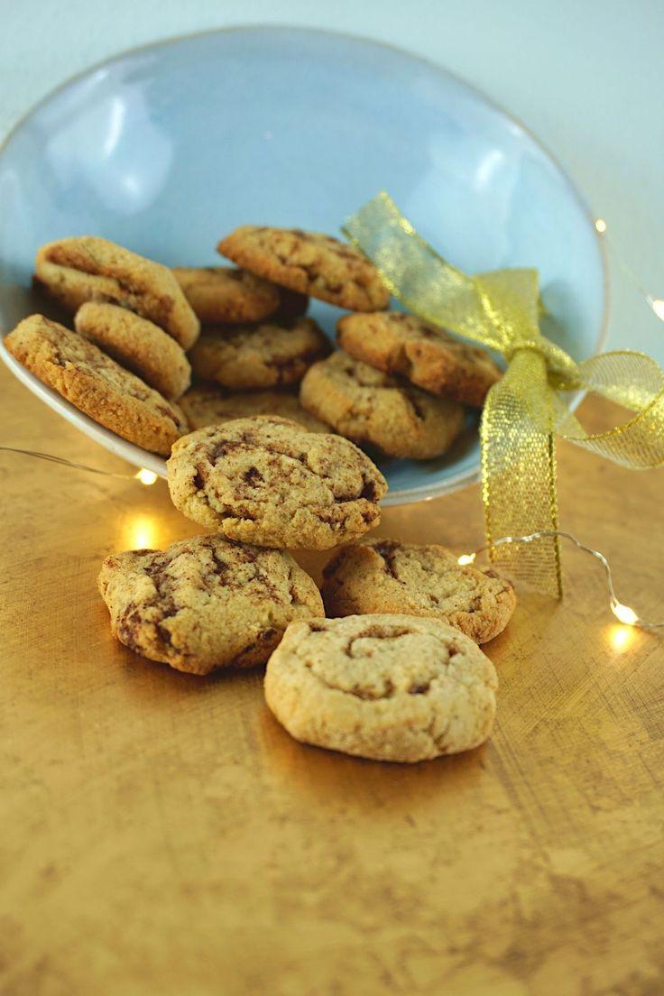 Mega leckere Low Carb Zimtschnecken Kekse, die zuckerfrei sind und sich perfekt …