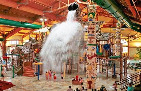 Best vacation spots for families with special-needs children: There are ways and places to set up stress-free, fun-filled time for everyone *pinned by WonderBaby.org: Indoor Waterpark, Vacations Spots, Great Wolf Lodges, Families Vacations, Wolves, Travel, Places, Water Parks, Kid