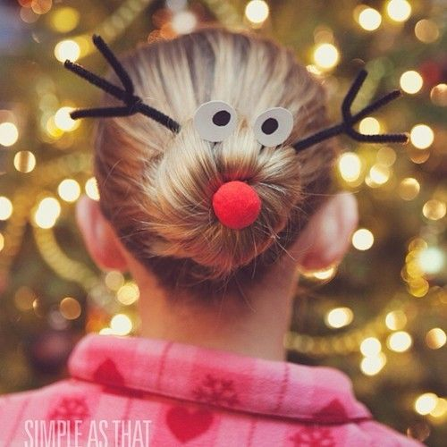 I am doing this for their school parties!  Except Alexandra whose hair is too short to get a bow in!