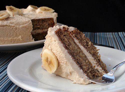Banana Bread Cake! yumm