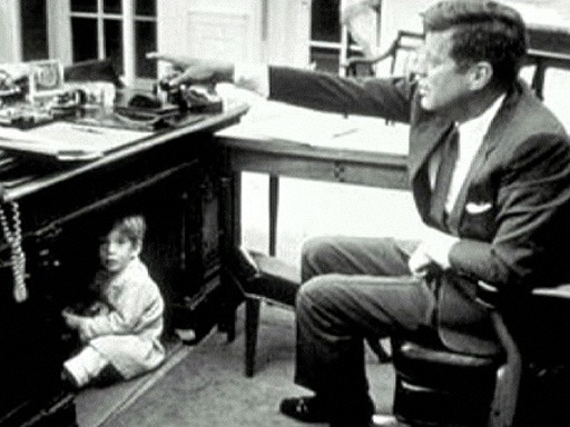 John Kennedy (1917 – 963), often referred to by his initials JFK, was the 35th President of the United States, serving from 1961 until his death in 1963. Kennedy was assassinated on November 22, 1963 in Dallas, Texas. Lee Harvey Oswald was charged with the crime, but he was shot and killed by Jack Ruby two days later, before a trial could take place.
