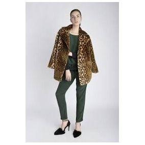 Maria Cher Tapado De Simil Piel Leopardo Modelo Marie