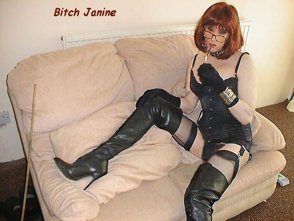 janine tranny uk