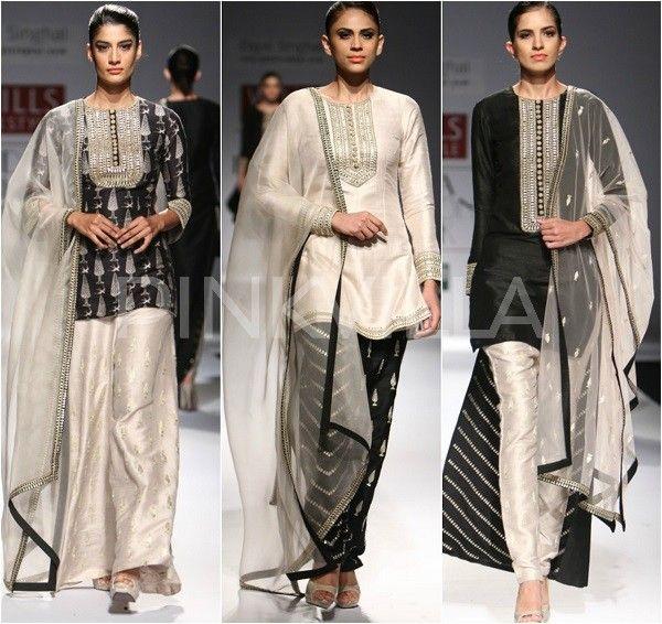 Payal Singhal collection at Wills India Fashion Week 2014   PINKVILLA