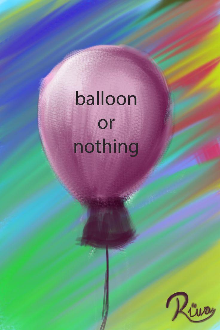 Balloon or nothing Artist Ruva