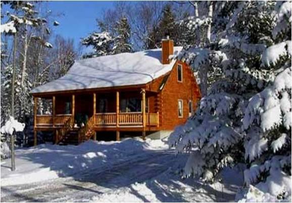 date winter cabin in the pocono mountains poconomtns