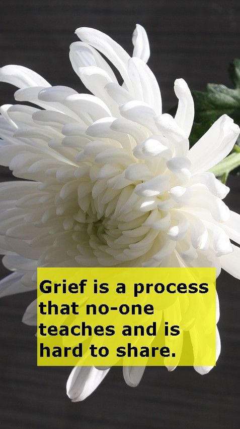 Grief is a process that no-one teaches and is hard to share. >>https://www.lifewithoutfluff.com/grief-process-no-one-teaches-hard-share/
