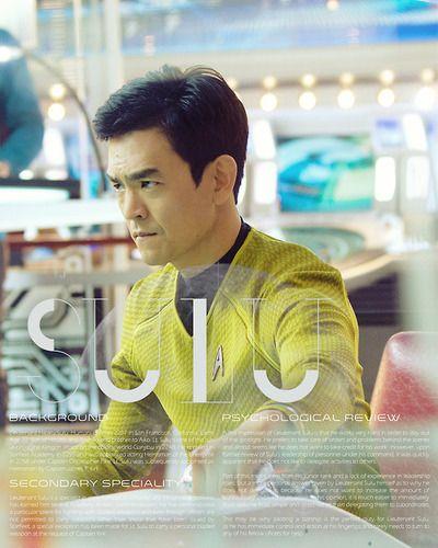 Star Trek character bio thingies: Hikaru Sulu