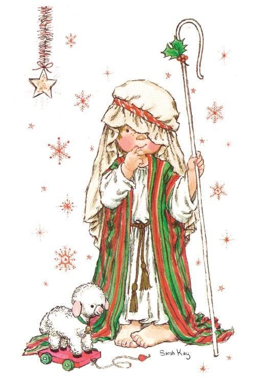 Sarah Kay C'est Noël - Shepherd