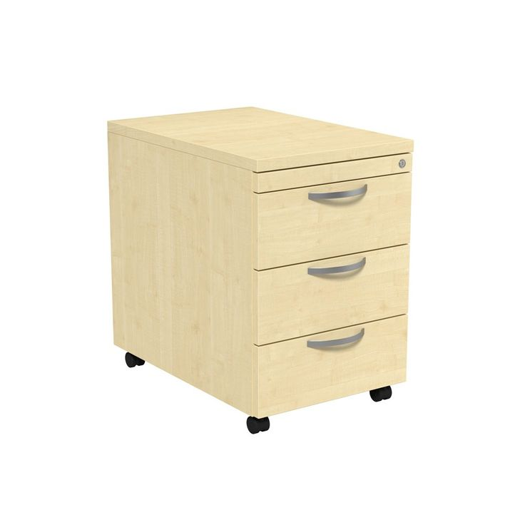 This Three Drawer Wooden Mobile Pedestal in Maple comprises part of our  next day Unite range of office furniture  with 3 lockable personal storage  drawers. 78 best Office Storage images on Pinterest   Office storage