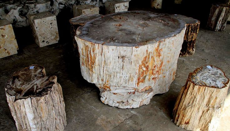 """Check out my @Behance project: """"Wood Stump Table"""" https://www.behance.net/gallery/47657671/Wood-Stump-Table"""