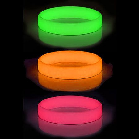 These Glow in the Dark #Silicon Bracelets can be Pantone Colour Matched, Glow in the Dark PVC #Wristbands .