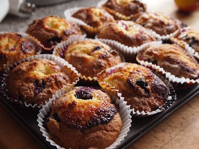 Blueberry Lemon Muffins  Hairy Bikers