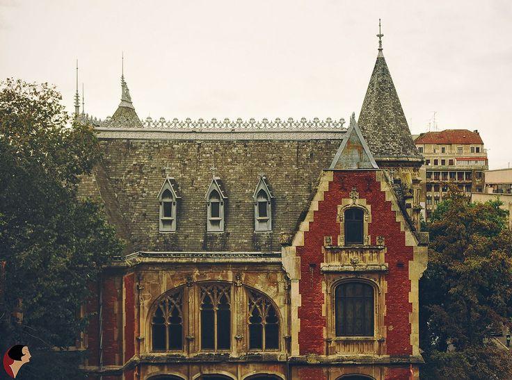Un 'castel' pe Str. General Gh. Manu, Bucureşti. Casa Niculescu-Dorobanţu - ahitect Grigore Cerchez