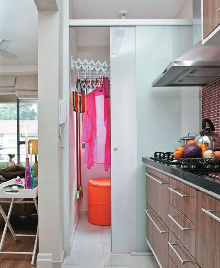 Apê de 42 m² com espaço bem aproveitado - Casa
