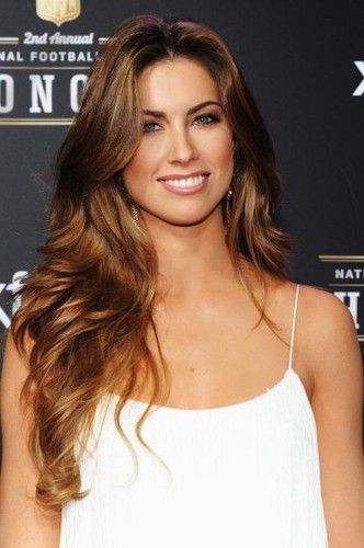 The beautiful Katherine Webb, thick hair