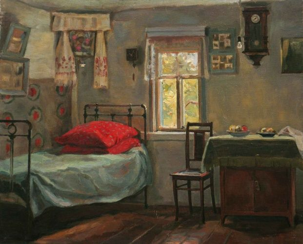"Устинович Александр Николаевич ""Красные подушки"" / Aleksandr Ustinovich ""Red Cushions"""
