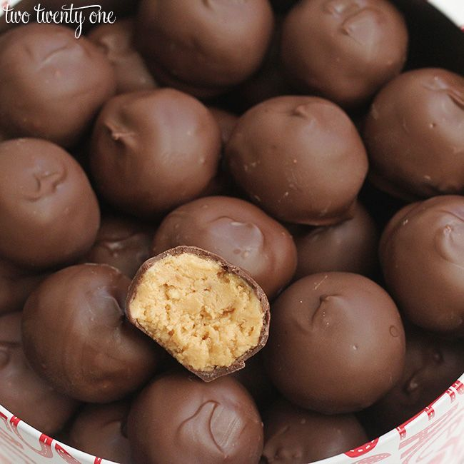 A delicious and easy-to-follow recipe for chocolate covered peanut butter balls. This recipe, which includes only 5 ingredients, has been loved for decades!