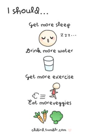 All the lifestyle changes I have made for myself :)