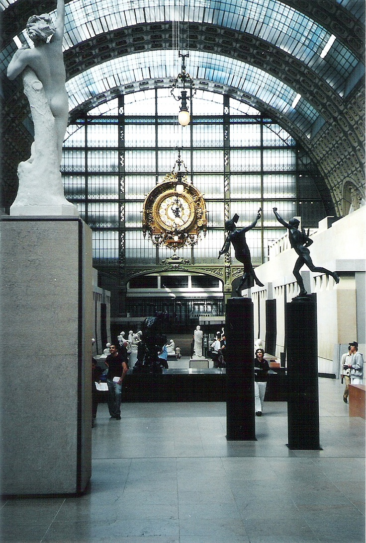 Musee D'Orsay -  down the street fm apt I stayed in for 2012 trip. Truly one of most amazing places I've had privilege of seeing in person.