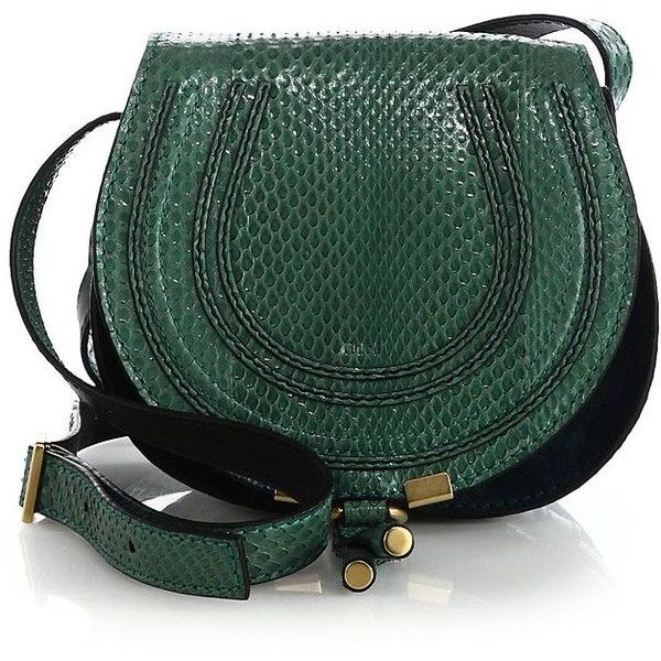 Chloe Marcie Small Ayers Crossbody Bag ($1,235) ? liked on ...