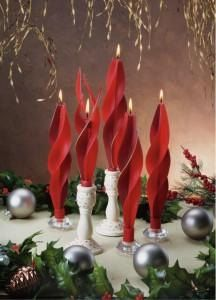 candle christmas candle beeswax candle holiday by BougieCandles
