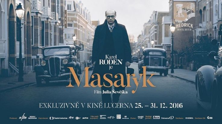 Masaryk - The Winner of 12 Czech Lion Awards Finally, here comes 12 times the Czech Lion Award-winning film Masaryk on DVD and Blu Ray. You can now order on 💻 www.czechmovie.com 📦