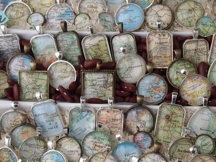 Maps! It would be fun to have one of your Honeymoon Trip, favorite vacation, home town, etc.