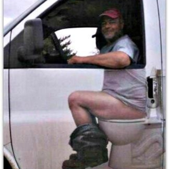 Rednecks: Laughing, The Roads, Vans, Funny Pictures, Funny Stuff, My Dads, Cars Stickers, So Funny, Dump Trucks
