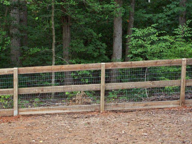 Fences   Farm Fences and Rail Fences, Installation, Design & Repair: VA Fence ...