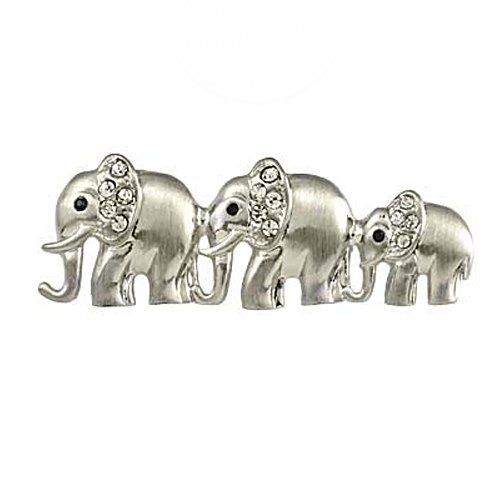 Silvertone Clear Rhinestone Elephant Brooch Pin Fashion Jewerly PammyJ Brooch Pin. Save 46 Off!. $14.99. NICKEL AND LEAD FREE. PERFECT FOR A COAT OR BLAZER. SPARKLING RHINESTONES. GORGEOUS FOR GIFTS. COMES IN FOIL GIFT BOX