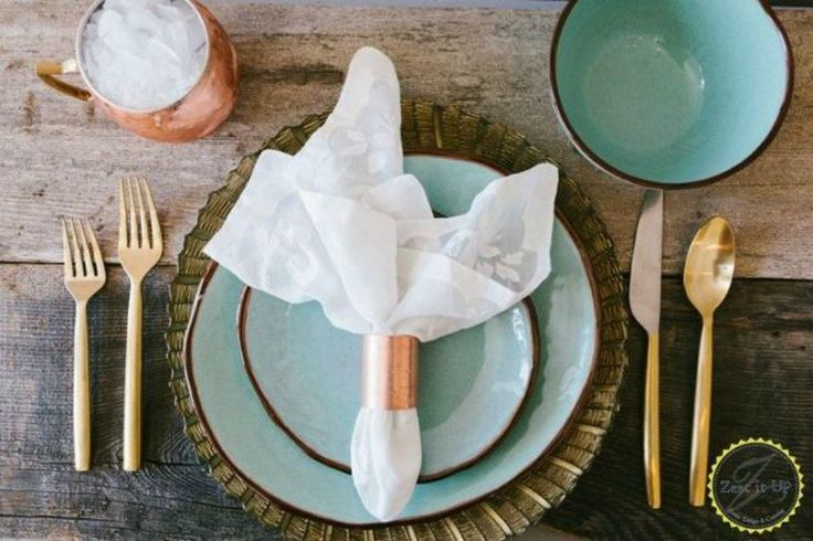 s these 11 copper pipe ideas will make you rethink your decor, home decor, plumbing, This stunning rose gold napkin ring