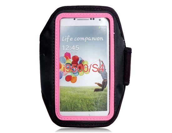 Voor de sportieve meisjes en dames met een Samsung Galaxy S4, koop deze mooie roze sport armband nu voor maar € 8,49! Je hoeft niet te betalen voor de verzendkosten! www.sporthoesjes.nl #sportarmband #sporten #hardlopen #roze